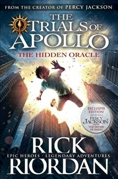 The Hidden Oracle (The Trials of Apollo Book 1) May release date