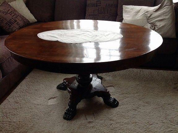 Antikk sofa, stol og salongbord. - Very nice Mahogany