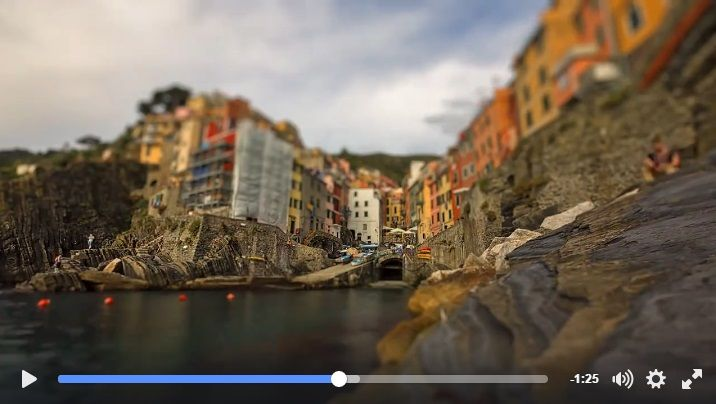 Liguria raccontata in time-lapse e tilt-shift