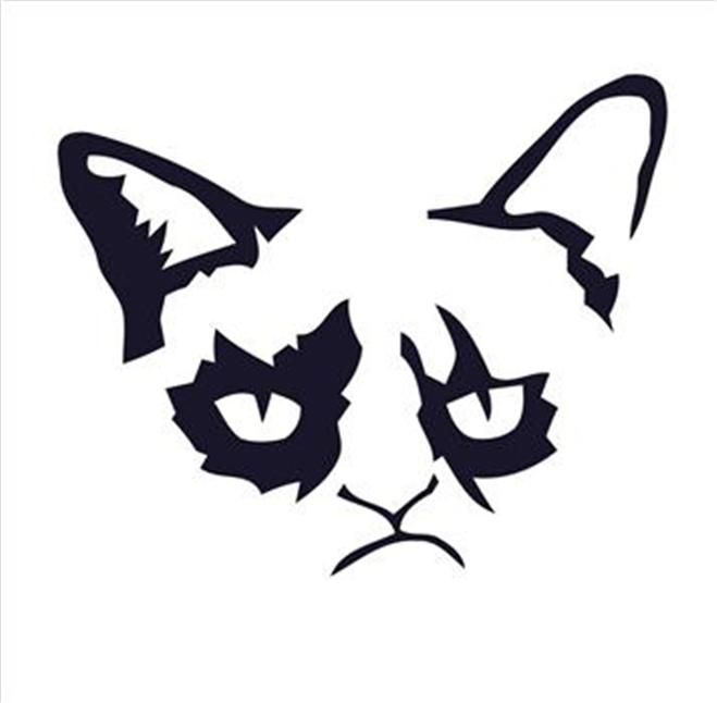 grumpy cat pumpkin stencil - Yahoo! Search Results