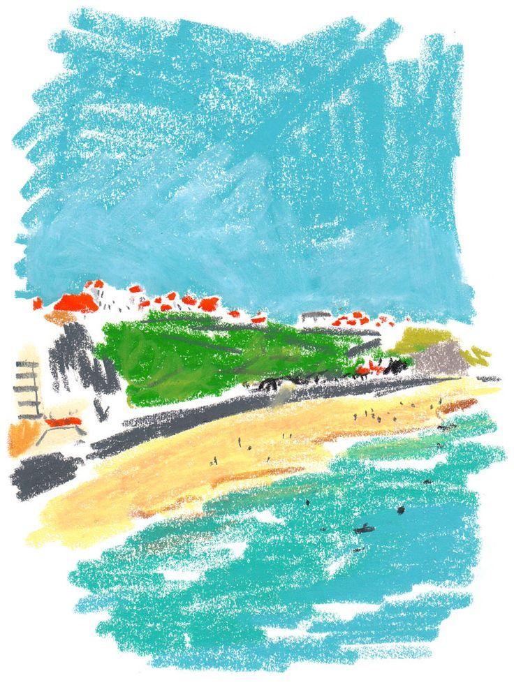 Biarritz Big Festival for T Magazine.