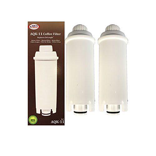 Aqua Cresta AQK-11 Compatible Delonghi SER3017 Cafetera Filtro de agua - Disponible en una gama de tamaños de envases (2) #Aqua #Cresta #Compatible #Delonghi #Cafetera #Filtro #agua #Disponible #gama #tamaños #envases