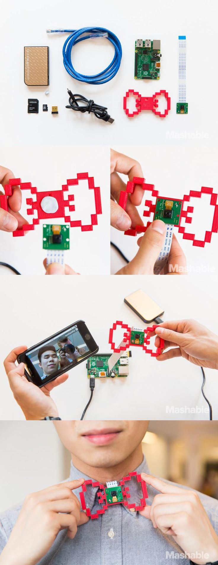 72 Best 3d Printing Images On Pinterest Fashion Printed And Flexible Circuit Board Filacart Blog Megastore Heres How To Build A Bowtie Spy Camera With Raspberry