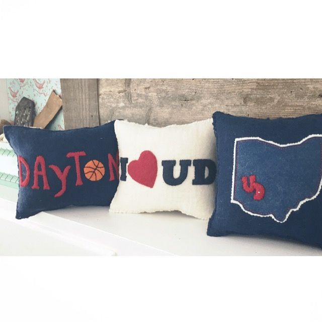 University of Dayton, Ohio, pillows