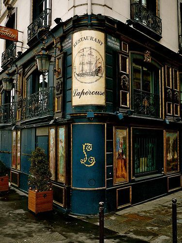 One of the oldest continuously operating restaurants in Paris - La Maison Lapérouse - it was founded in 1766