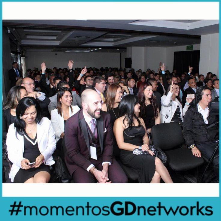 En nuestro más reciente evento del 5 de diciembre. Un evento que marcó la diferencia.  #momentosGDnetworks  #deColombiaparaelmundo #GDnetworks #GDInternational http://www.gdnetworks.co/ http://www.gdinternational.co/ Facebook: https://www.facebook.com/gdnetworks/ Instagram: https://www.instagram.com/gdnetworks/ Pinterest: https://www.pinterest.com/gdint/gd-networks/
