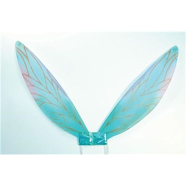 Blue Adults Pixie Fairy Wings - Butterfly Fancy Dress Costume