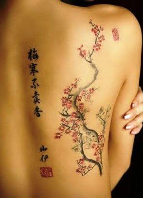 cherry blossom tattoo - Buscar con Google