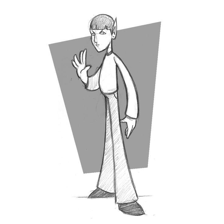 Startrek / character design / cartoon / Sketch  #sketch #cartoon #cartoons #comics #comic #pencil #ilustracion #ilustraciones #ilustradores #artwork #artist #artistic #followme #follows