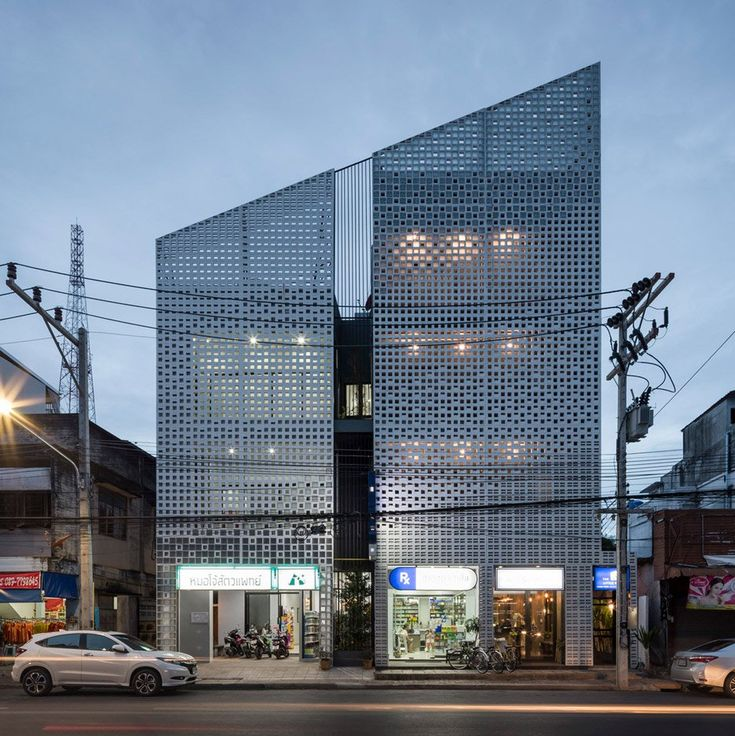 391 best concrete images on pinterest for Thailand architecture