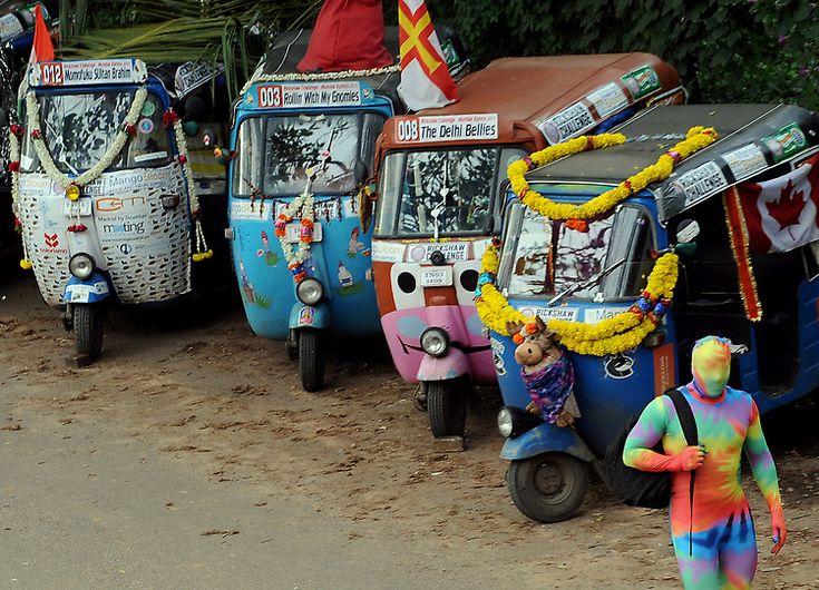 The Rickshaw Man Effect