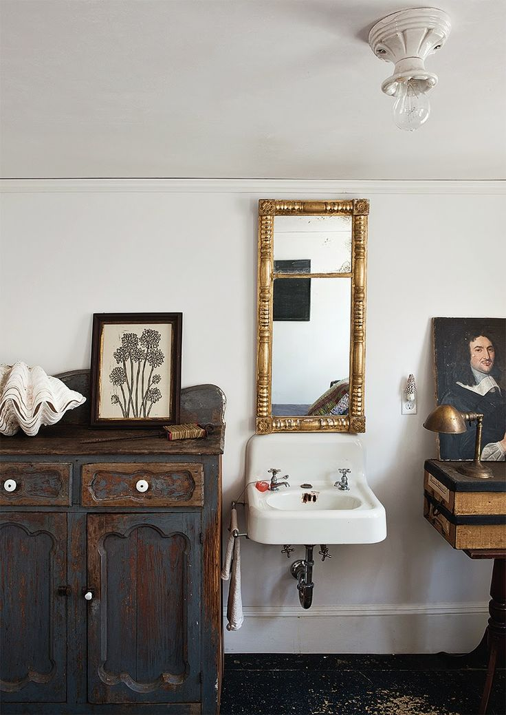 1352 best decorating with antiques and architecturals for Quirky bathroom decor
