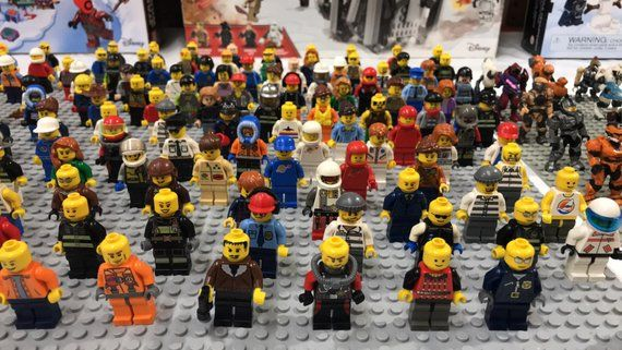 LEGO x 50 Yellow Hand for minifigs NEW bulk lot