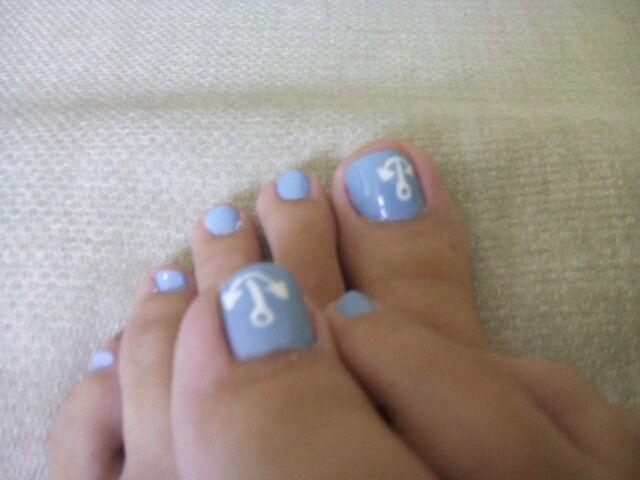 Summer nails by Anna Chatzicharalambous..