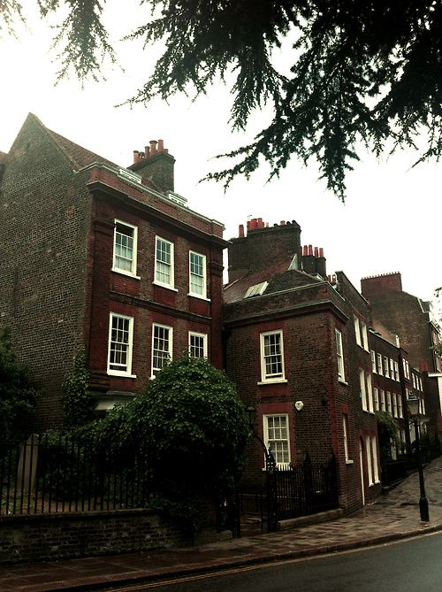 Church Row, Hampstead, London is known for its intellectual, liberal, artistic, musical and literary associations and for Hampstead Heath, a large, hilly expanse of parkland. It has some of the most expensive housing in the London area. The village of Hampstead has more millionaires within its boundaries than any other area of the United Kingdom.