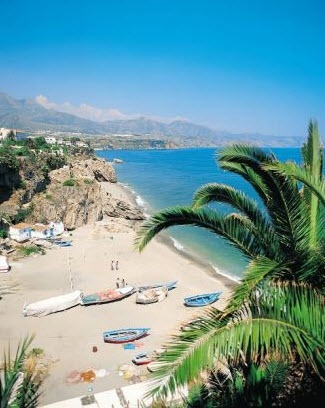 The great beaches of Nerja.... South Spain
