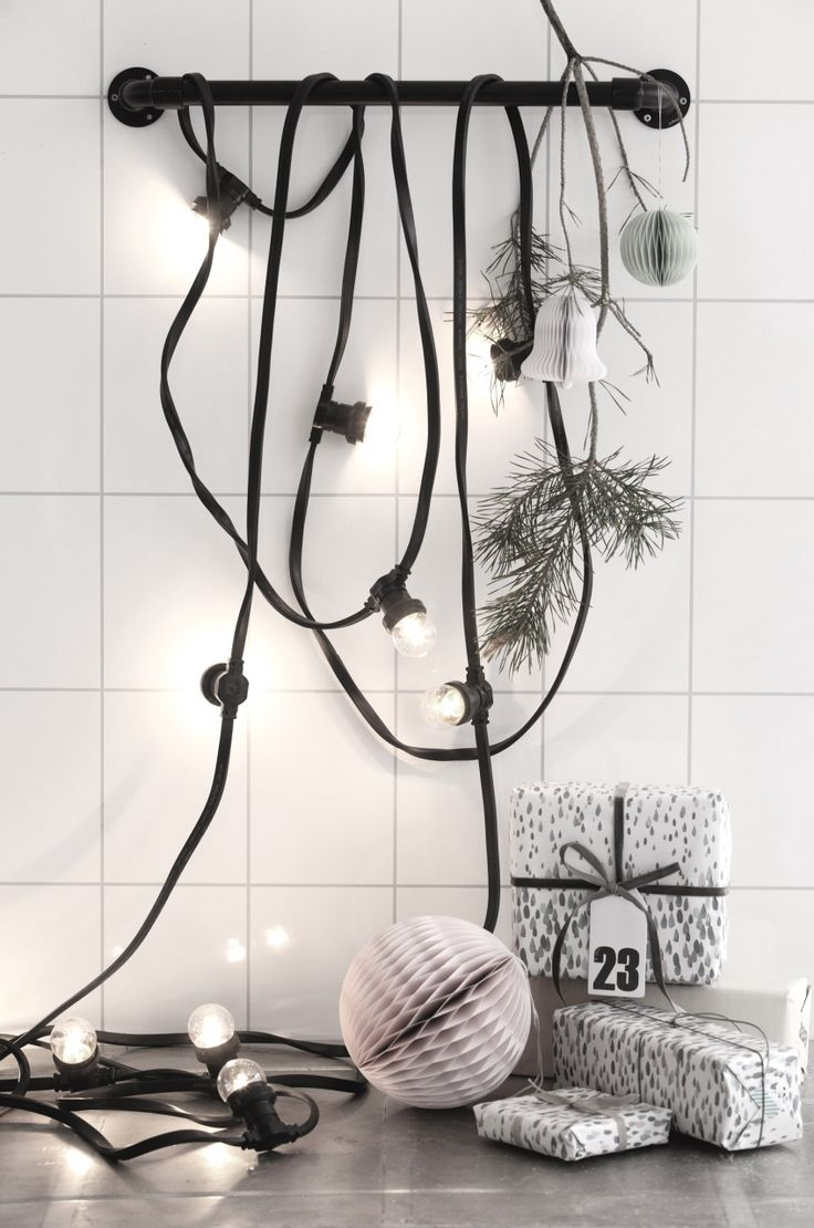 Super Nice Light Chain With 10 Bulbs From House Doctor Hang It Over A Doorway The Ceiling Or On Terrace Creates Fun Both Indoors And Out