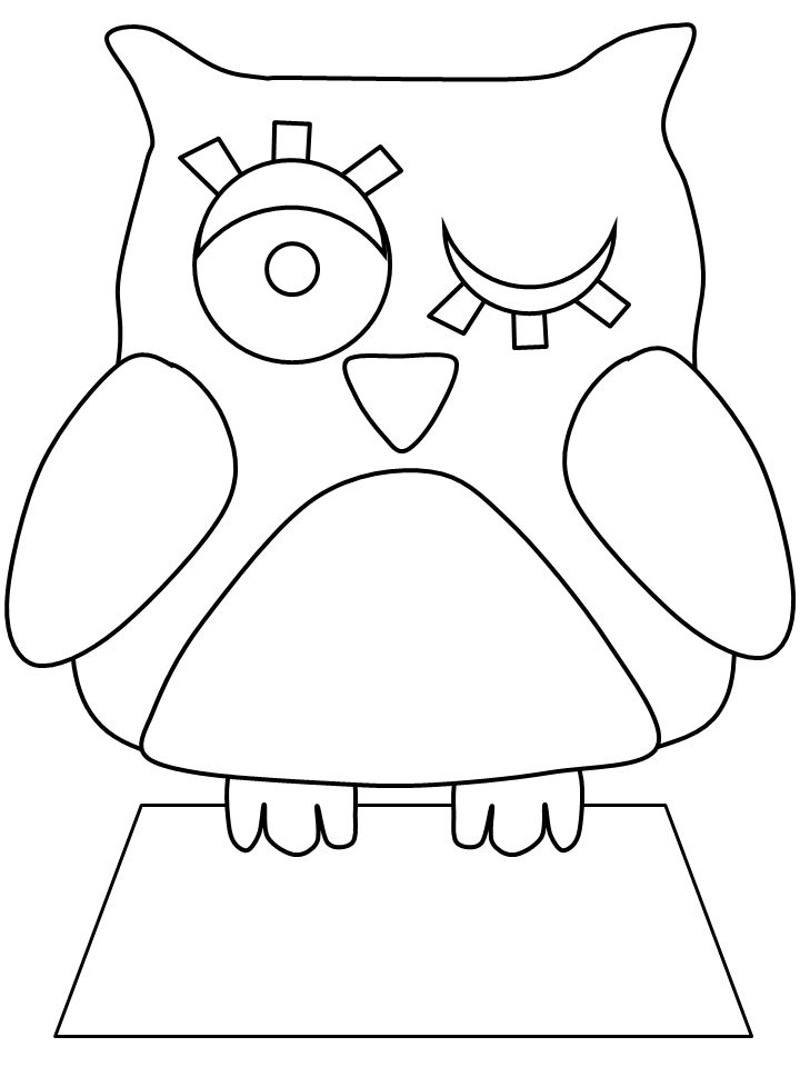 owl diaries coloring pages - photo#2