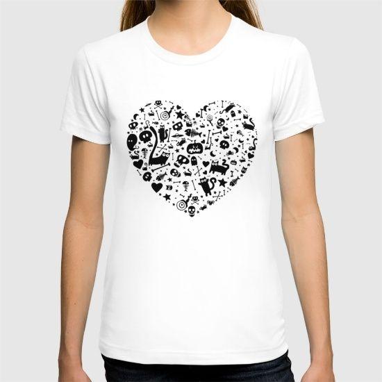 Halloween Heart T-shirt