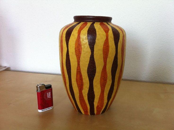 60er Jahre ILKRA Keramik Vase 206-20 TOP ZUSTAND!  | eBay