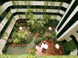 Hengende hage  Novotel Atrium Darwin