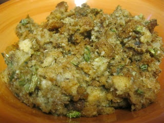 Home made stove top stuffing mix
