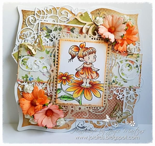 Flowers for You card by Joyce Martens