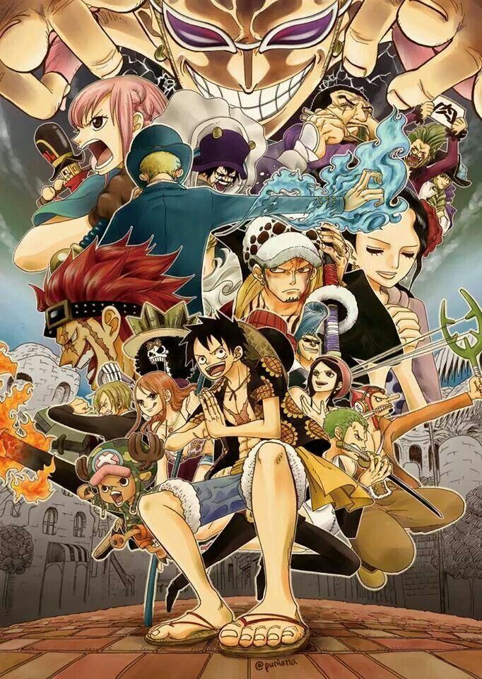 One Piece Dressrosa Arc Doflamingo