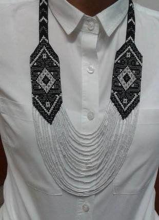 Kup mój przedmiot na #vintedpl http://www.vinted.pl/akcesoria/bizuteria/16691478-naszyjnik-dlugi-krawatka-folklor