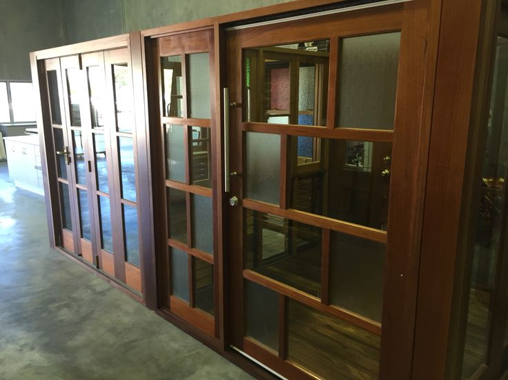 Timber Joinery Doors with glass panels
