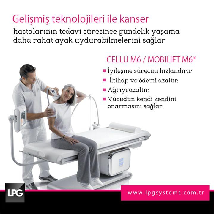1- 7 Nisan Kanserle Savaş Haftası! LPG Cellu M6 ve Mobilift M6 ile kanser tedavi süreci ve sonrasını daha hafif atlatmak mümkün. www.lpgsystems.com.tr