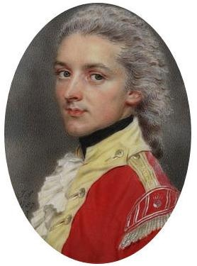 Portrait of Captain W. S. Dawe of the Indian Infantry    Object:  Miniature    Place of origin:  India (probably, painted)    Date:  1787 (painted)    Artist/Maker:  John Smart, born 1742 - died 1811 (artist)