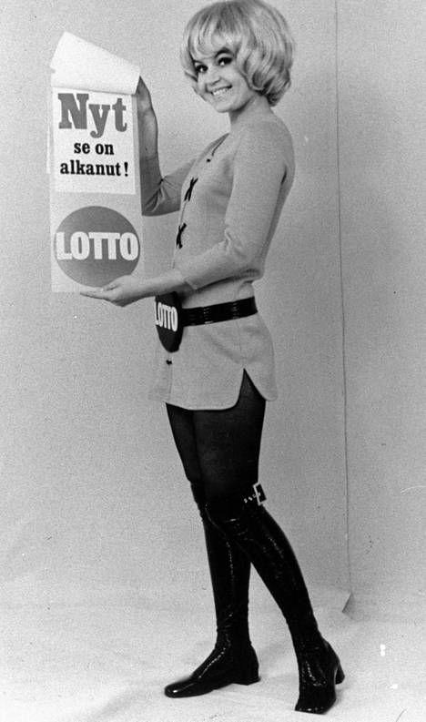 Hilkka Kotamäki opetti 70-luvulla suomalaisia lottoamaan.