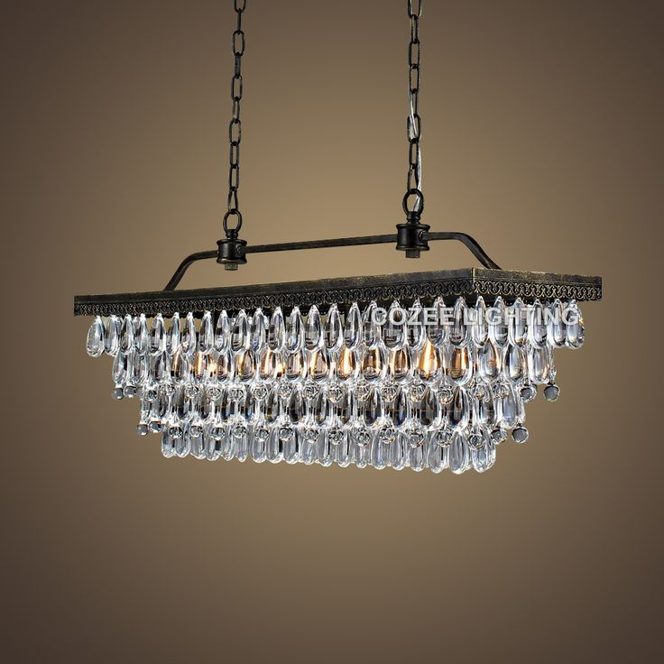 Cheap Chandelier Lighting, Buy Quality Rectangular Chandeliers Directly  From China Chandelier Led Suppliers: Vintage
