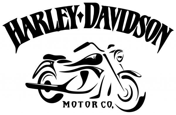 Harley Davidson Logo Wall Sticker In Vintage Style The Sticker Shows The Motorcycle And Th In 2020 Harley Davidson Images Harley Davidson Decals Harley Davidson Signs