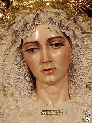 Virgen de la Aurora de Santa Marina. Sevilla,Spain