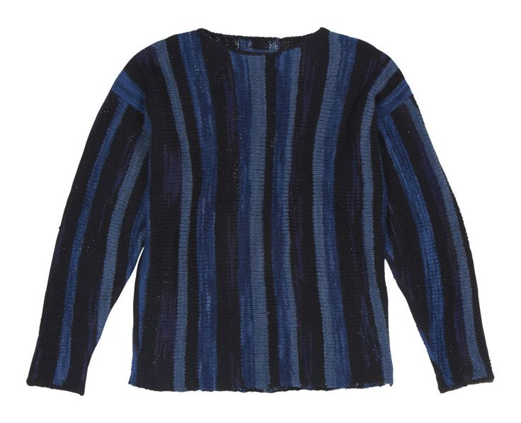 Rolo Sweater Indigo  Tina the Store $1200  Amagansett NY