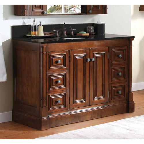 drawers for cabinets kitchen 48 quot wentworth collection vanity base at menards for the 15060