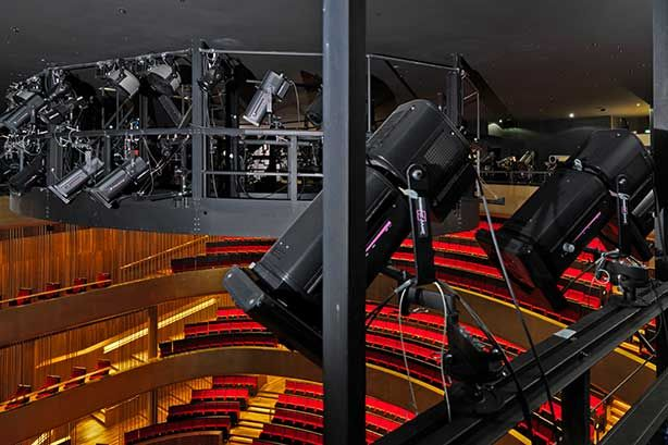 TURN ON THE LIGHTS – Kraftwerk Living Technologies provides state-of-the-art lighting technology for new opera house in Linz (Austria). www.kraftwerk.at