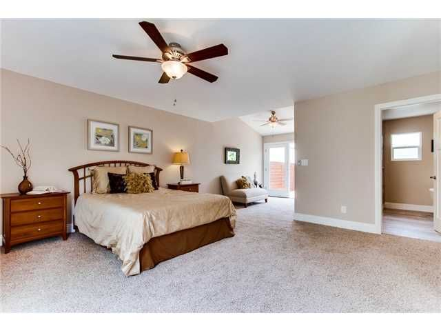 Large Neutral Master Suite With Carpet Tan Walls And