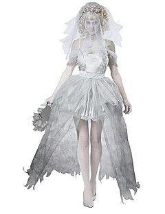 delle donne vendicatore zombie vestito da sposa weddng halloween costume