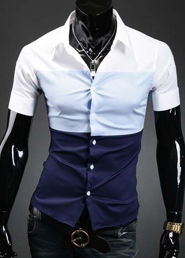 Short Sleeve Single Breasted Shirts