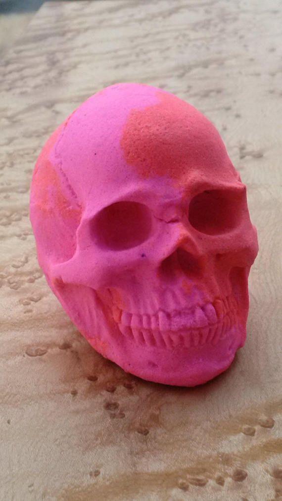 Ring Bath Bomb, Skull Bath Bomb, Surprise Bath Bomb, Sea Glass Jewelry, Skull Bath Fizzy, Custom Bath Bomb, Large Bath Bomb, Skull Gift