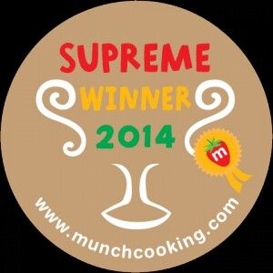 Voting time at the 2014 Munch Food Awards http://www.munchcooking.com