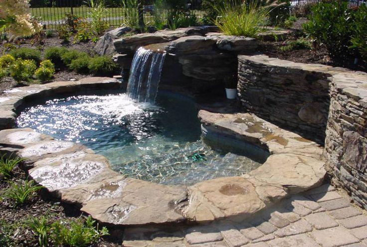 backyard jacuzzi ideas   nice outdoor spa designs 8134 Nice Outdoor Spa & Hot Tub Design With ...