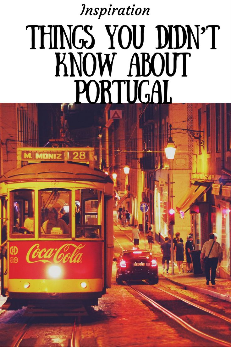Portugal - an ideal summer and winter holiday destination, it has so much to offer from golden beaches, fresh seafood and historical cities to explore. There's certainly more to Portugal than meets the eye...check out these great facts!