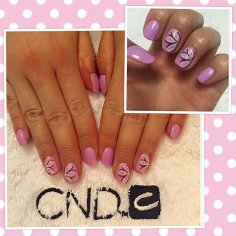 21 best lecente brushes images on pinterest brushes nailart and rebecca evans uses cnd shellacs beckoning begonia plum paisley cream puff design using prinsesfo Image collections