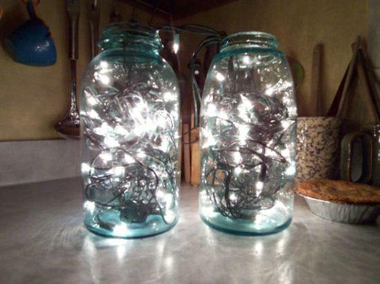 deko-bastelideen-glas-einweckglas-lichterketten.jpg 550×412 Pixel
