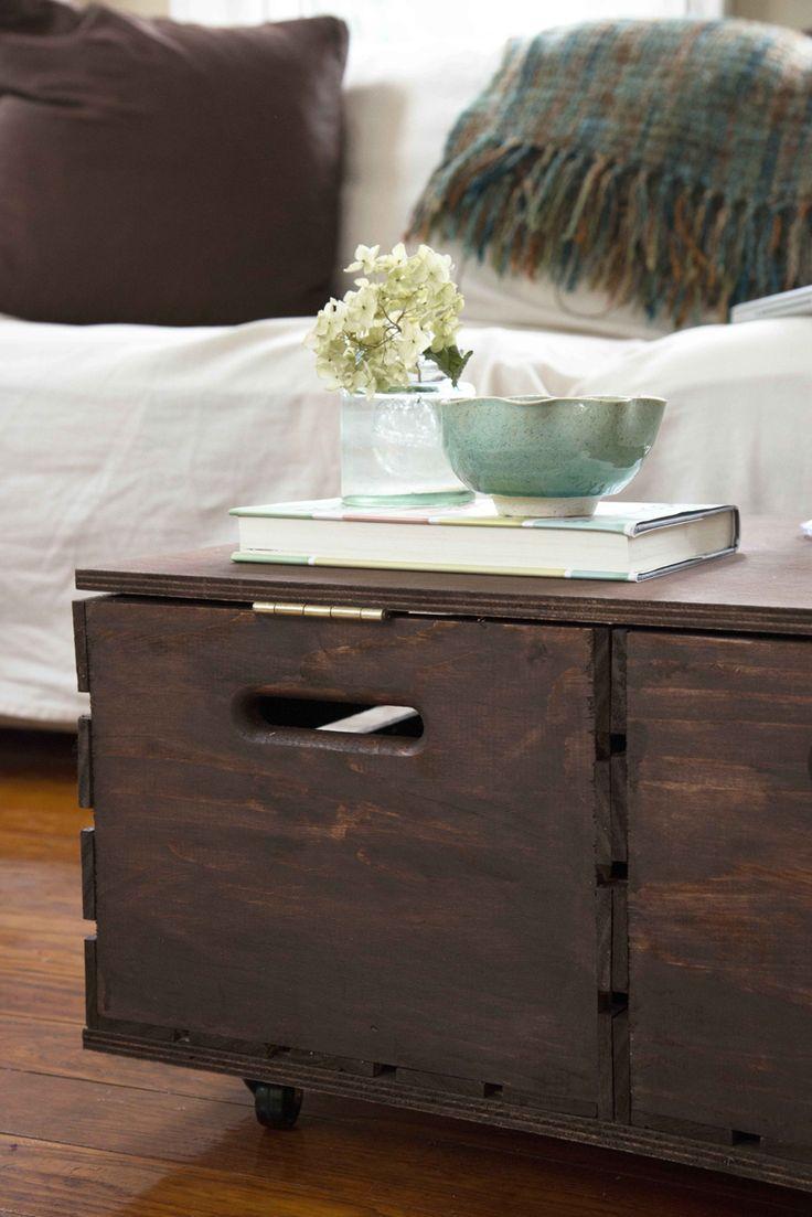 best 25 diy storage ottoman coffee table ideas on pinterest
