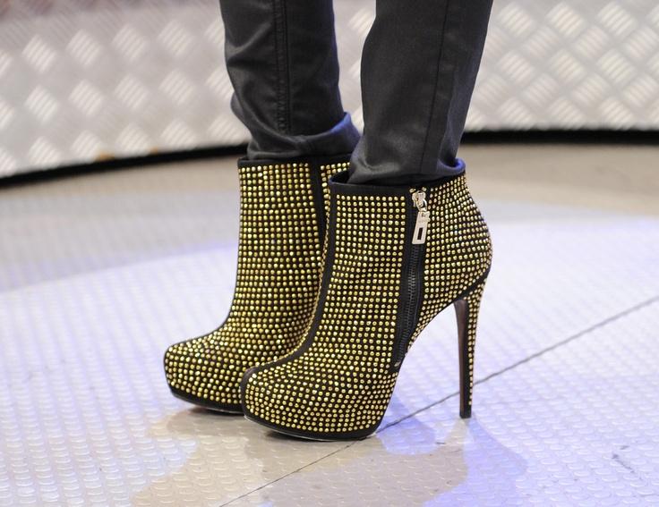 #Studded Footwear: @Valerie Schutz Oficial